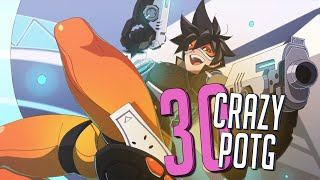 30 CRAZY PLAYS OF THE GAME #9 ► Overwatch Highlights Community Montage