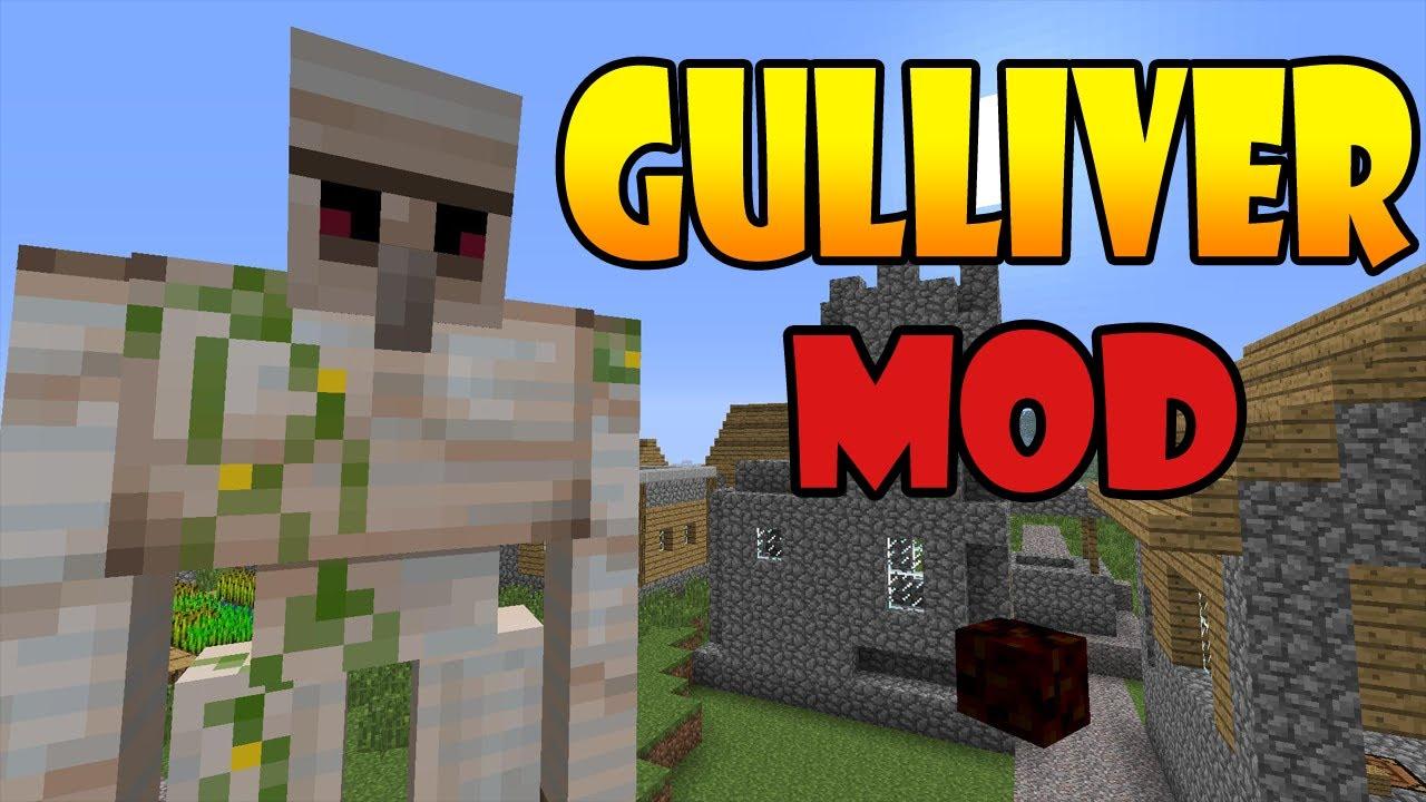 Minecraft Mods Gulliver Mod