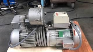 Busch 5HP Rotary Vane Vacuum Pump 230V 3PH RC0100