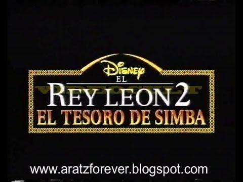 El Rey León 2. El Tesoro De Simba (trailer Castellano)