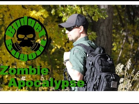 Zombie Apocalypse Survival Bag