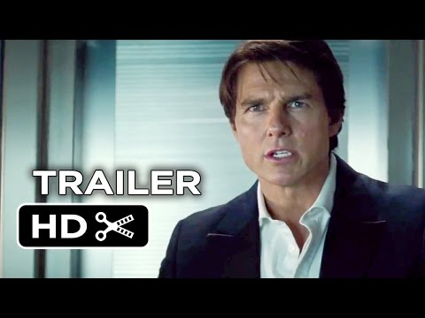 Mission: Impossible Rogue Nation Official Trailer #2 (2015) - Tom Cruise Action Movie HD