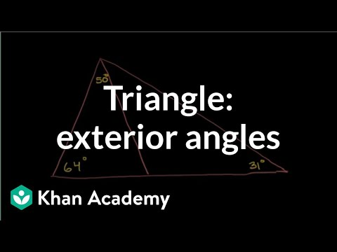 Triangle Angle Example 1