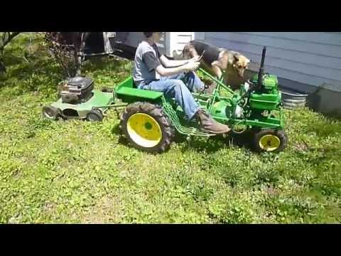 Home-made Garden Tractor & Mower