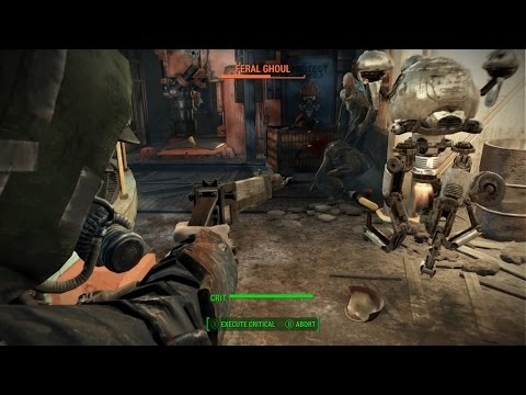 Fallout 4 Part 4 Ghouls and Corvega Power Plant