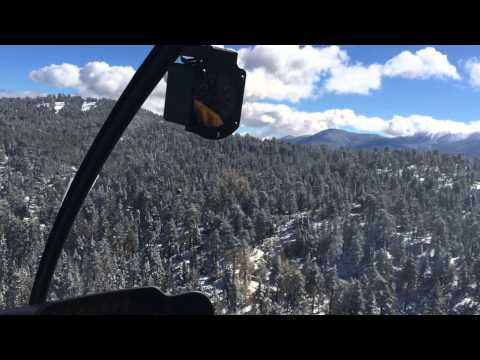 Big Bear Helicopter Tours Wintertime  YouTube