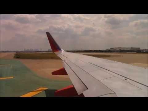 Southwest Airlines Full Flight: Dallas Love to Birmingham, AL
