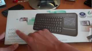 Unboxing & Overview - Logitech K400 Wireless Keyboard - By TotallydubbedHD
