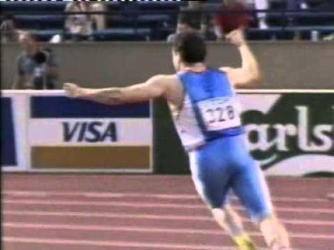1991 World Champs M Javelin Kimmo Kinnunen
