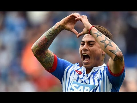 Eduardo Vargas - Skills and Goals 15/16 - Season Review Hoffenheim