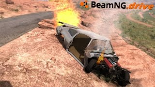BeamNG.drive - CRASH AND BURN
