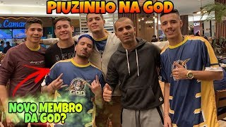 PIUZINHO NA GOD? YOUTUBERS NA PRO LEAGUE