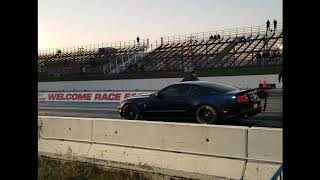 2018 MUSTANG GT 500 0-60 AND 1/4 MILE TIME