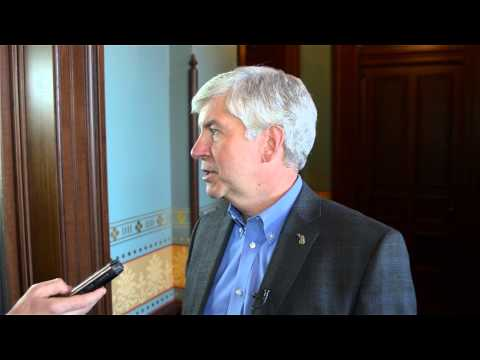 Governor Rick Snyder Speaks on Same-Sex Marriage Licenses in Michigan