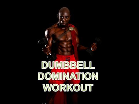 Dumbbell Workout Image 1