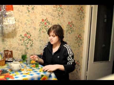 Видео как пить абсент