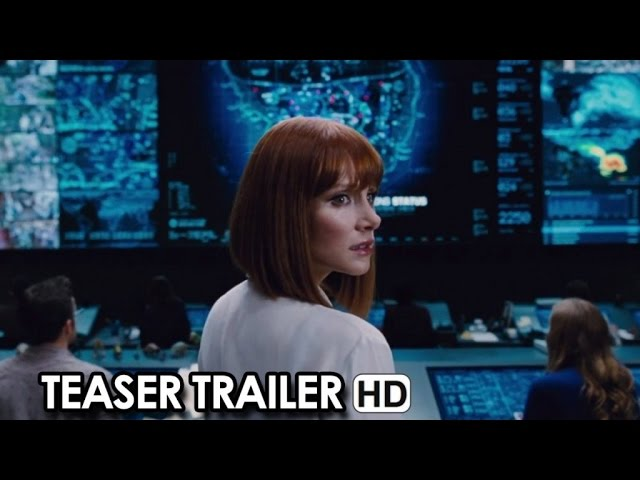 JURASSIC WORLD Teaser Trailer (2015) - Chris Pratt Movie HD