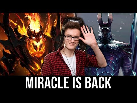 How to Carry in Dota 2! Miracle- Shadow Fiend & Terrorblade Gameplay