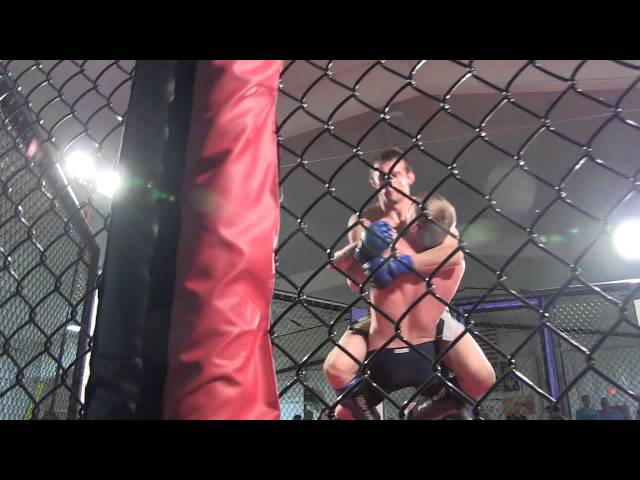 Noel Smith with Maryland Cage Combat