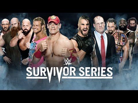 Team Cena Vs. Team Authority - Survivor Series - Wwe 2k15 Simulation video