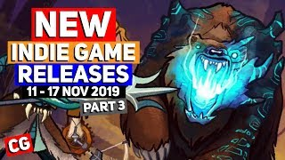 NEW Indie Game Releases: 11-17 Nov 2019 –Part 3 [Sponsor: Wildermyth] Fantastic Creatures & more!