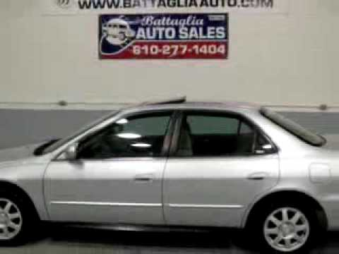 2002 Honda Accord Se. 2002 Honda Accord SE Battaglia
