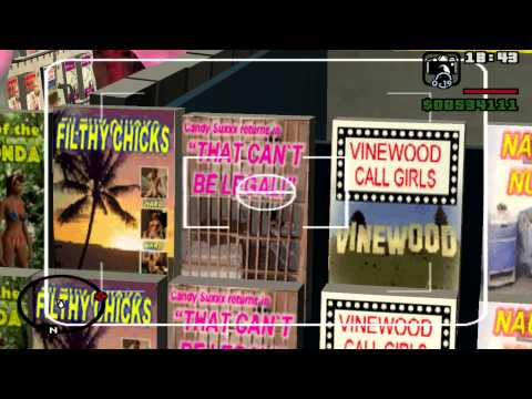 GTA San Andreas Mission 81 Key to Her Heart (PC)