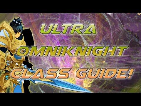 AQW: Ultra OmniKnight Class Guide! (Enhancements. Review. OP Class!!!!)