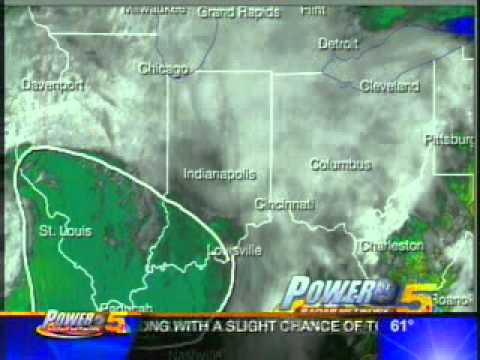 Live! StormTeam 5 - Severe Weather Coverage on WLWT - (2005)