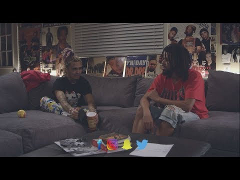 Lil Pump Talks with J cole about F*@k J cole Diss and J-cole explains 1985 song