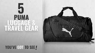 Top 10 Puma Luggage & Travel Gear [2018]: Puma Men's Contender Duffel