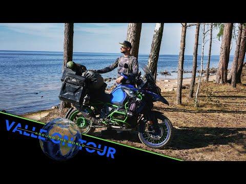 Mein Gepäck für die große Motorradreise
