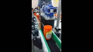 yuvarlak sarma etiket makinası