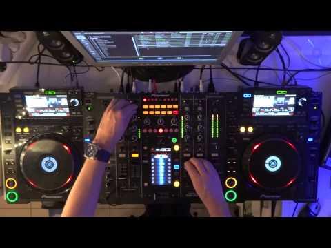 mix CDJ 2000 et DJM 2000
