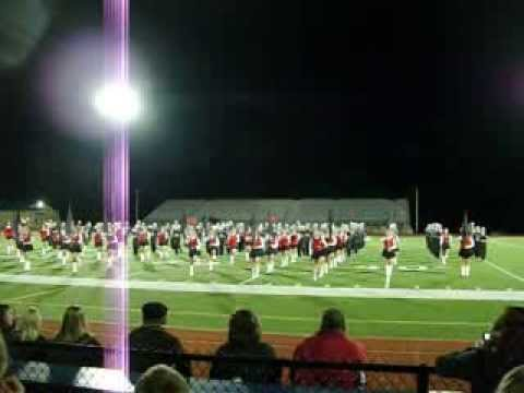 Franklin Area High School - Black Knight Marching Band - Gangnam Style