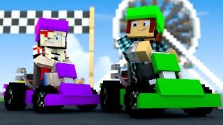 Minecraft : CORRIDA DE KART !! - (Parque de Diversões #03)