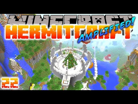 Minecraft Hermitcraft - CROWN HALL TREE! ( Let's Play S3E22 )