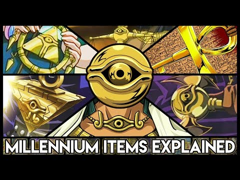 Explaining The Millennium Items From Yu-Gi-Oh!