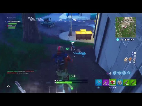 TLG fornite game play