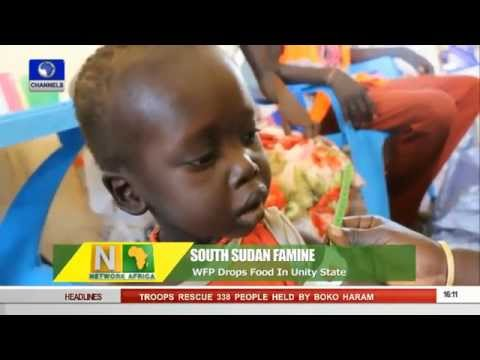 Network Africa: WFP Drops Food In South Sudan To Address Famine -- 28/10/15