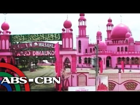 Pink mosque to open in Maguindanao