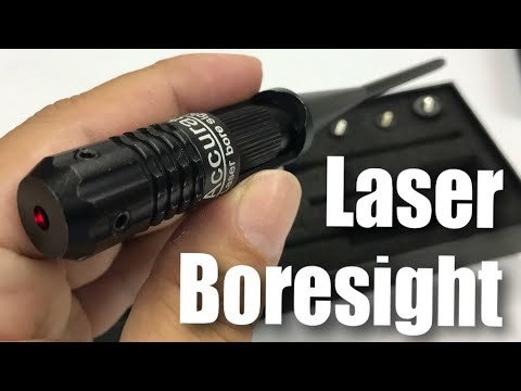 WOLFROAD Laser BoreSighter Bore Sight kit for 0.22 to 0.50 Caliber Rifles Review