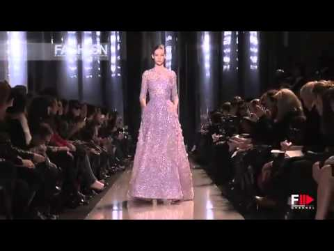 Elie Saab_ Full Show HD Spring Summer 2013 Haute Couture Paris by FashionChannel - YouTube