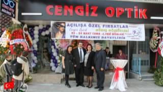 Cengiz Optik Zeytinburnu'nda Açıldı