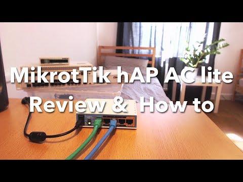 Enterprise router for 50 euro?!? MikroTik hAP AC lite Review & How to