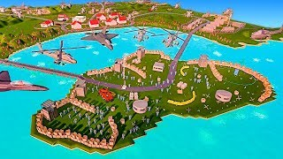 What if Russia Invaded the USA and only one Island Fort was left? - Ancient Warfare 3