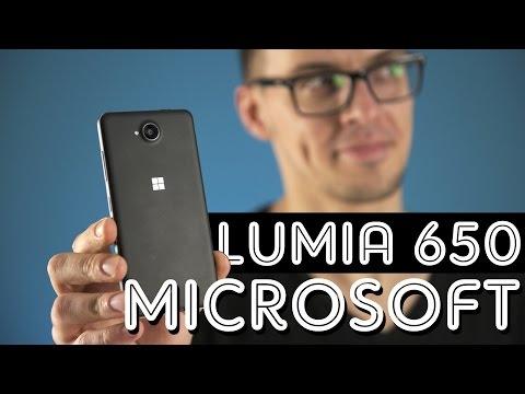 Microsoft Lumia 650: наконец-то металл!