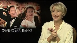 Emma Thompson: 'PL Travers would have rather looked down upon film' - Saving Mr Banks