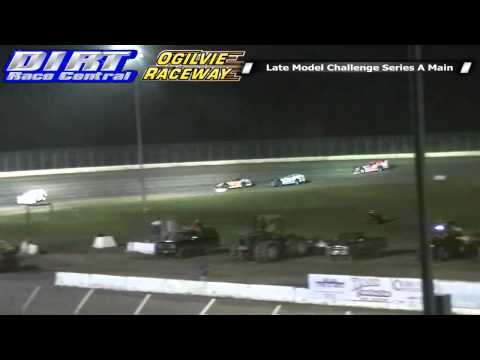 Ogilvie Raceway 8 9 14 WISSOTA Late Model Challenge Series Races