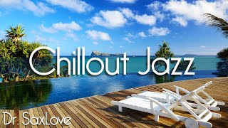 Chillout Jazz • 2 Hours Smooth Jazz Saxophone Instrumental Music for Relaxing and Study
